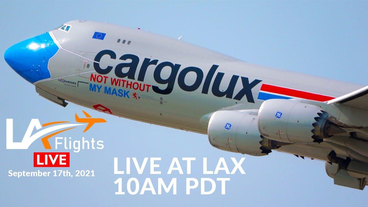 Download [LA FLIGHTS] 🔴LIVE Plane Spotting at LAX + ATC [Clutters Park]