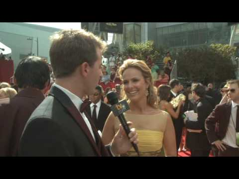 Primetime Emmy 61 Red Carpet Interview - Melora Hardin