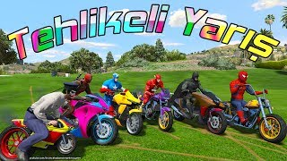 sper motorsikletler ile tehlikeli yarış rmcek adam ve rmcek ocuk yeni blm