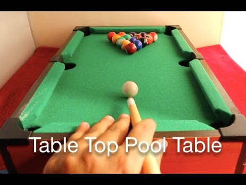 Charmant Table Top Pool Table