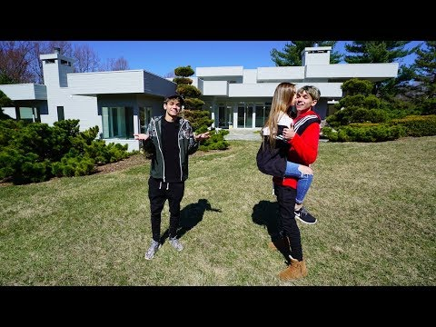 MY GIRLFRIEND IS MOVING INTO OUR NEW HOUSE?!