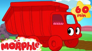 Garbage Truck Adventures with Morphle ( +1 hour My Magic Pet Morphle kids videos compilation)