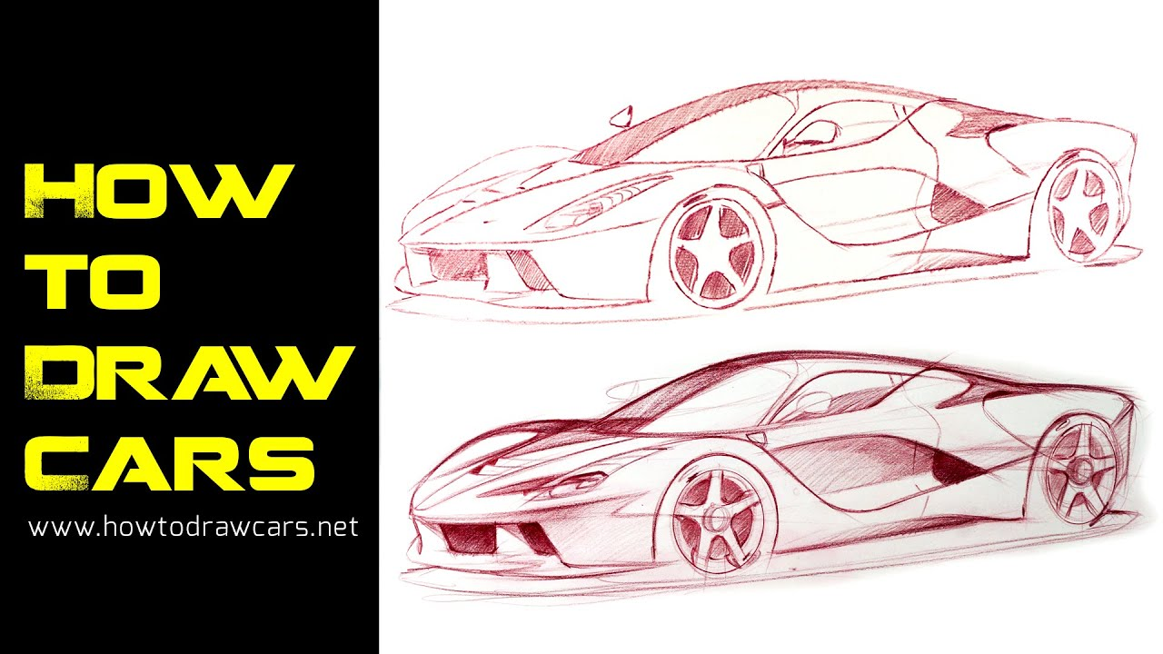 Car Design Drawings - Secrets to Improving Your Line Quality Pt 1 ...