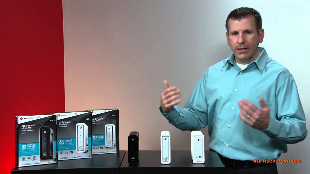 ARRIS: Cable Modem Set-Up