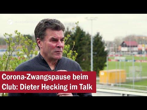 Download Corona-Zwangspause beim Club: Sportvorstand Dieter Hecking im Talk