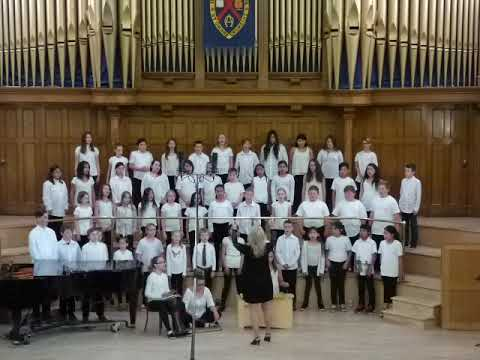 Norwood School Choir Wetaskiwin 2017