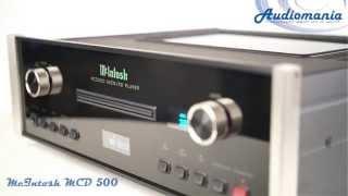 CD проигрыватель McIntosh MCD 500