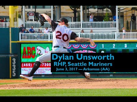 Dylan Unsworth, RHP, Seattle Mariners — June 3, 2017