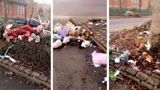 Teen Horrified After Discovering Leicester Explosion Memorial Trashed