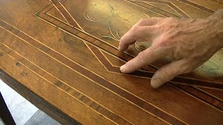 Restoring An Antique Italian Table - Thomas Johnson Antique Furniture Restoration