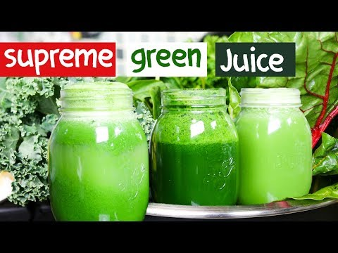 ULTIMATE DETOX GREEN JUICE for WEIGHT LOSS & SKIN GLOW!