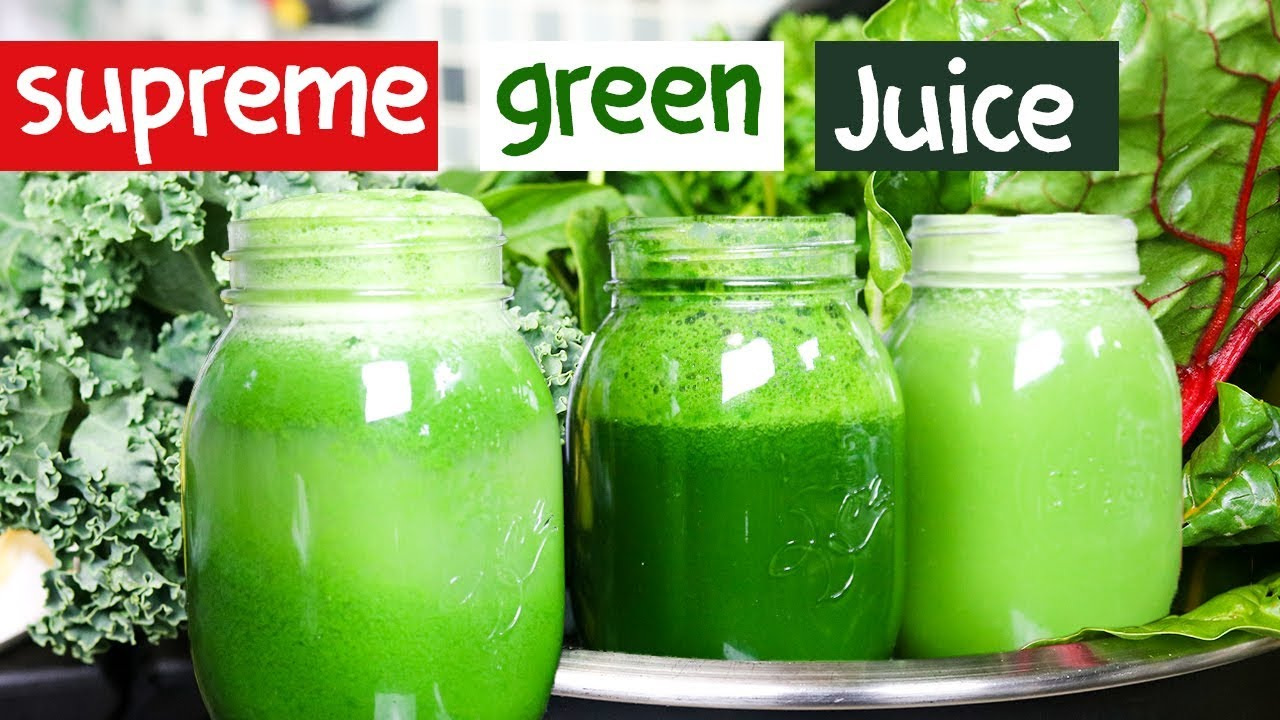 GREEN JUICE for WEIGHT LOSS & SKIN GLOW