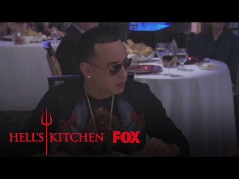Daddy Yankee Dines In Hell's Kitchen   Season 14 Ep. 5   HELL'S KITCHEN