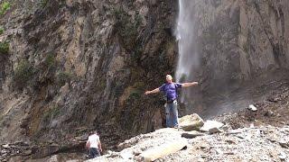 Азербайджан || Приехали в Гах || Краш тест для машины || Гахский водопад || Опасная дорога