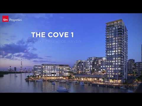 The Cove Building 1 - A Thriving Waterfront Community at Dubai Creek Harbour