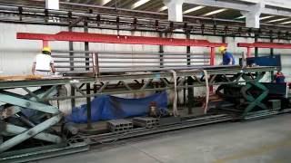 WEIFANG EAST UL FM Red Painted Fire Fighting Sprinkler Steel Pipe  chris@eaststeelpipe.com