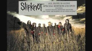 SlipKnot-Vermillion Pt.2 ( Bloodstone Mix) Audio