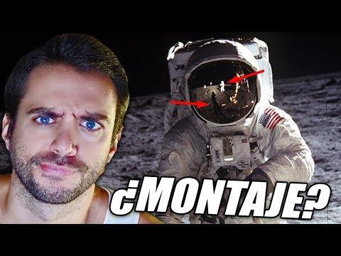 EL HOMBRE NO FUE A LA LUNA (MONTAJE NASA) | Anti-Conspiranoia