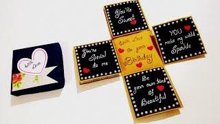 Beautiful Birthday card idea | Handmade Birthday card | complete tutorial