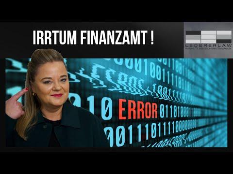 Finanzamt macht Fehler - Was muss ich wissen? Lederer erklärt!