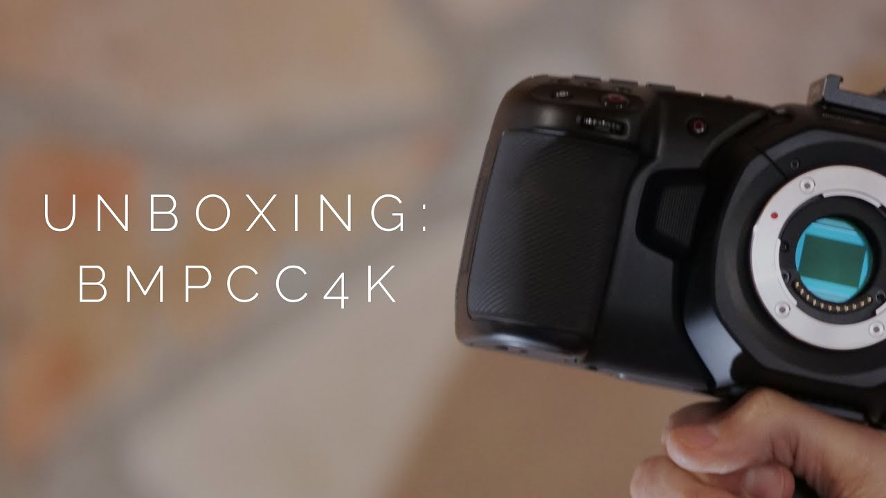 Unboxing Blackmagic Pocket Cinema Camera 4k Blackmagic Bmpcc4k Youtube