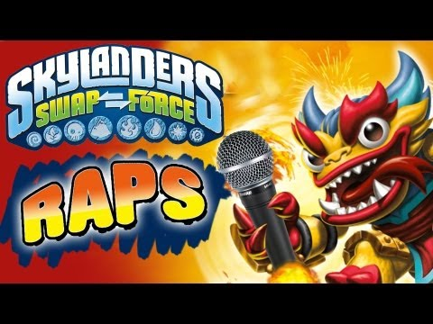 """Meet the Swap Force"" Rap Song - 32 New Characters w/ Gameplay & Pics"