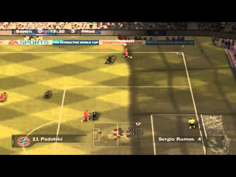 FIFA 07 ONLINE Real Madrid Vs Bayern Munich | Primer Tiempo