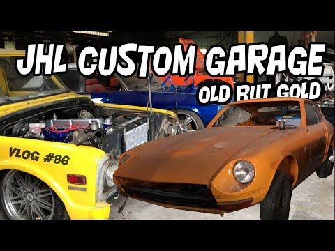 "CLASSIC CAR WORKSHOP TOUR | JHL CUSTOM GARAGE | #VLOG 86 ""CARVLOG INDONESIA"""