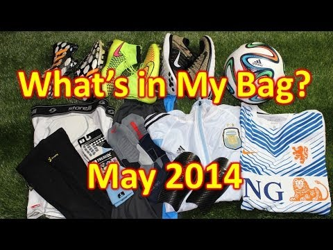 What's In My Soccer Bag - May 2014