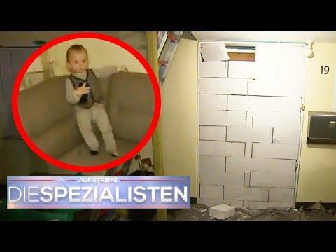 Zugemauertes Haus: Wieso ist Finn (1) eingesperrt? | Birgit Maas | Die Spezialisten | SAT.1 TV