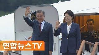 [현장연결] 문 대통령, 2박3일 평양 방문 마치고 서울공항 도착 / 연합뉴스TV (YonhapnewsTV)