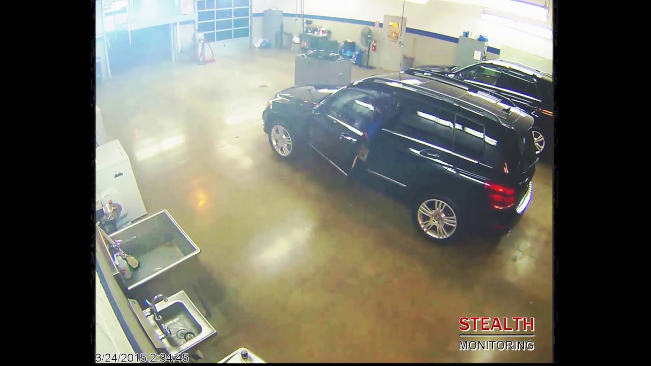 3 Masked Car Thieves Arrested at Car Dealership - Security