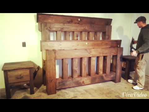 mission country furniture demo of our high capacity mission style bedroom se youtube