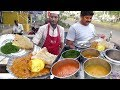 Egg Curry with Chapathi Rs 30 - 3 Phulka with Palak Curry Rs 30 | Cherita Phulka Point in Guntur