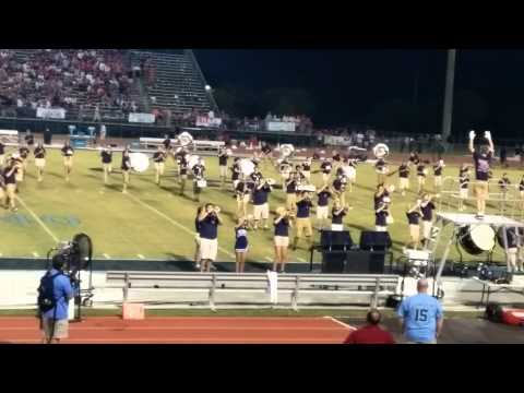 Gulf Shores High School Marching Band 8/28/2015