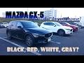 MAZDA New CX-5  Black,White,Red,Gray,  Colour Choices  2017                              (2017)