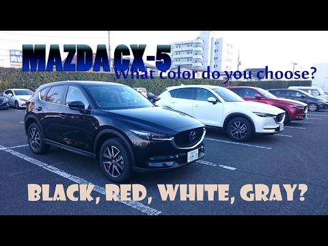 2017 Mazda Cx 5 Colors >> Mazda New Cx 5 Black White Red Gray Colour Choices 2017