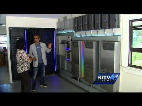 Company uses blue energy to go green