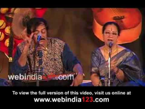 Ustad Dilshad Khan & Parveen Sultana Hindustani Vocal Jugalbandhi.wmv