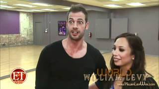 William Levy´s (@willylevy29) #DWTS B-Ball Jive Drive! // ETOnline