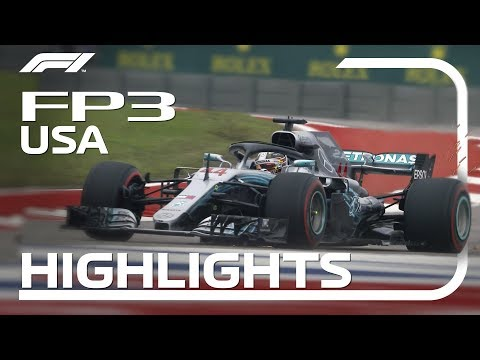 2018 United States Grand Prix: FP3 Highlights