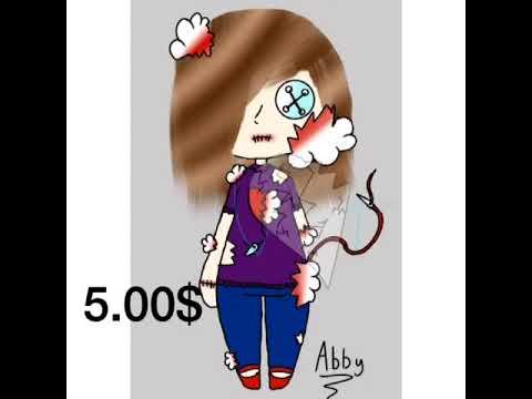 V artwork (plus commission prices) read description