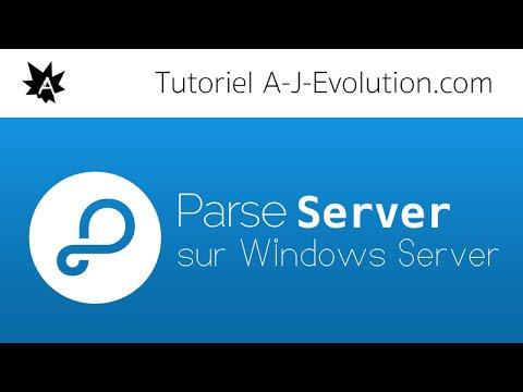 Install Parse Server in Windows Server !