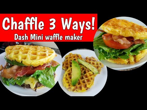 chaffle-3-ways-|-dash-mini-review
