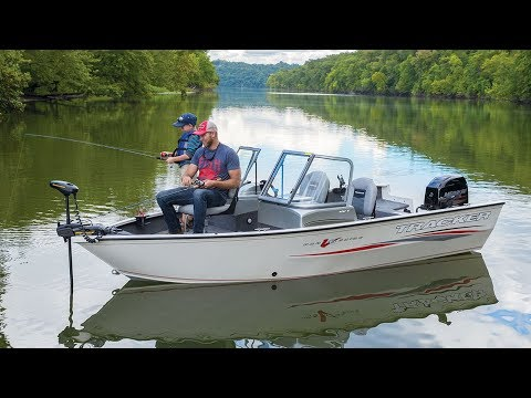 TRACKER Boats: 2018 Pro Guide V-16 WT Deep V Fishing Boat