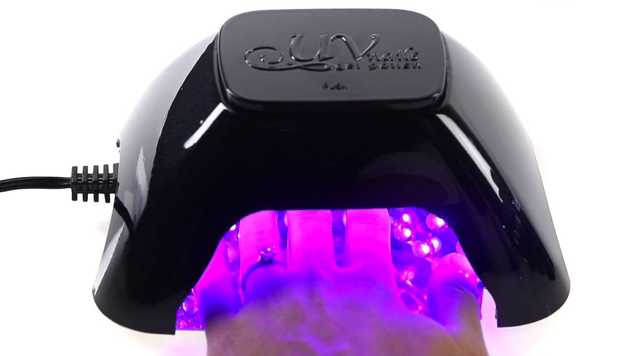 UV Nails LED Lamp and Gel Nail Polish Set on Groupon - YouTube