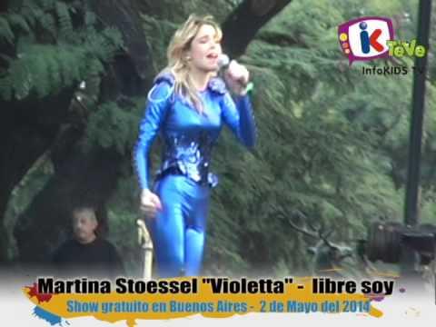 Violetta - Martina Stoessel canta libre soy
