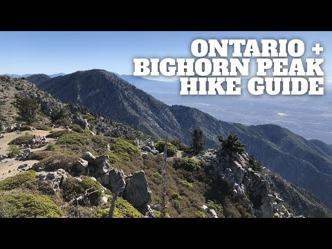 Ontario Peak Hike (with a hike to Bighorn Peak) - HikingGuy.com