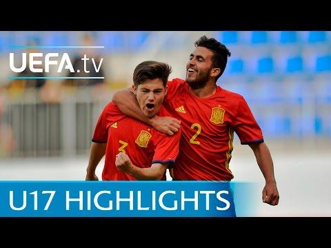 UEFA Under-17 Highlights: Spain 1-0 England