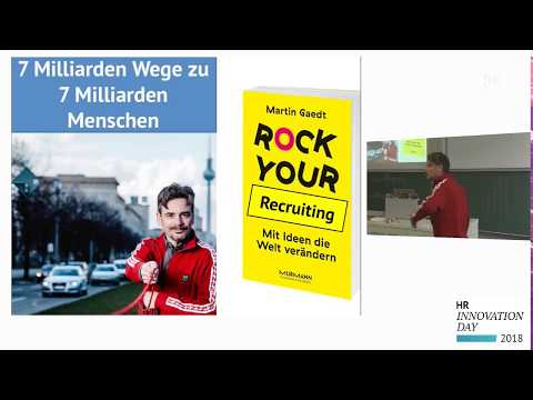 Martin Gaedt Rock Your Idea. Rock Your Recruiting. HR Innovation Day 2018 HTWK Leipzig